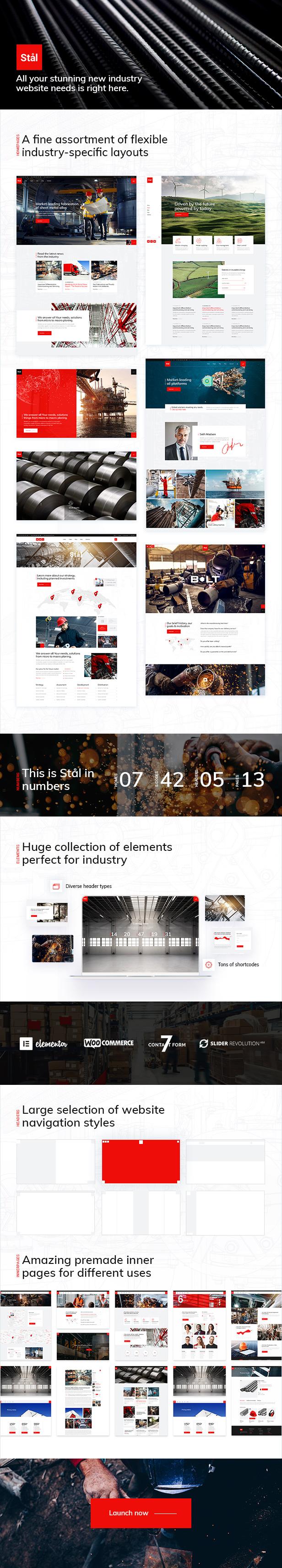 Stål - Industry WordPress Theme - 2